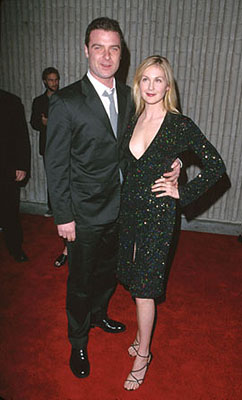 Premiere: Liev Schreiber and Kelly Rutherford at the premiere for Dimension's Scream 3 - 2/3/2000