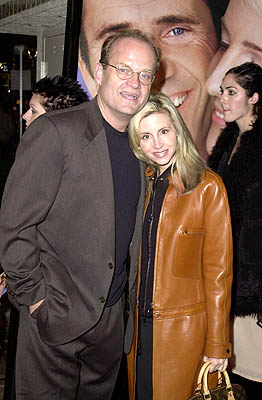 Premiere: Kelsey Grammer and Camille Donatacci at the Westwood premiere of Paramount's What Women Want - 12/14/2000
