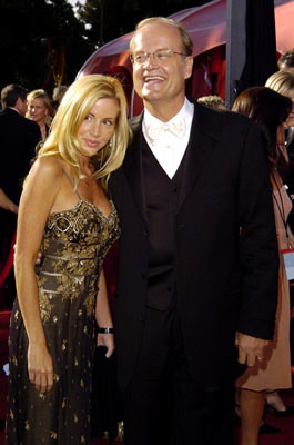 Kelsey Grammer and wife Camille 56th Annual Emmy Awards - 9/19/2004