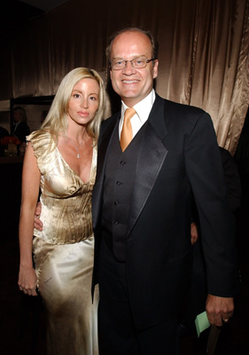 Kelsey Grammer and wife Elton John AIDS Foundtation In-Style Party Hollywood, CA 3/24/2002