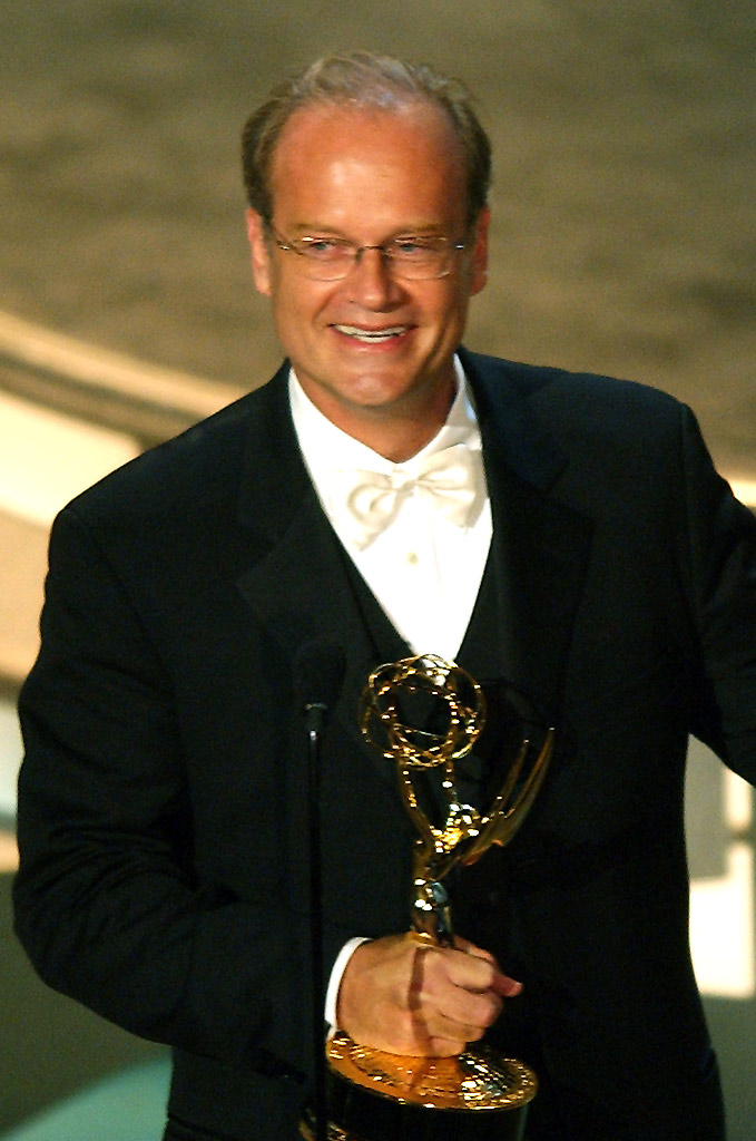 "Kelsey Grammer, winner of Outstanding Lead Actor in a Comedy Series for ""Frasier"" at The 56th Annual Primetime Emmy Awards."