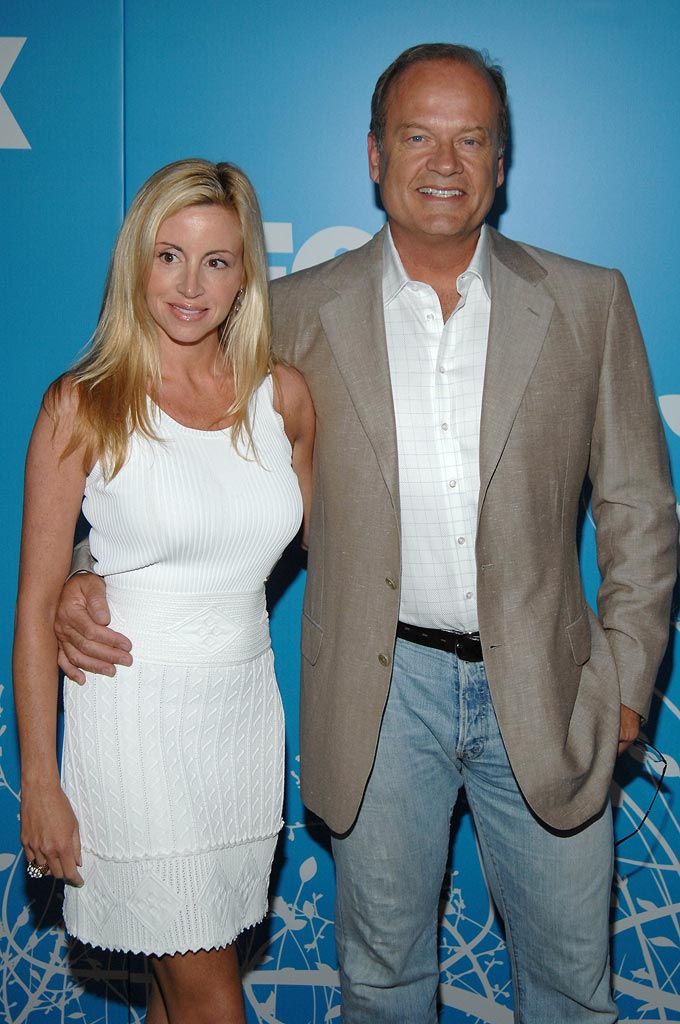 Camille Grammer and Kelsey Grammer of Back to You at the 2007 FOX  UpFronts.