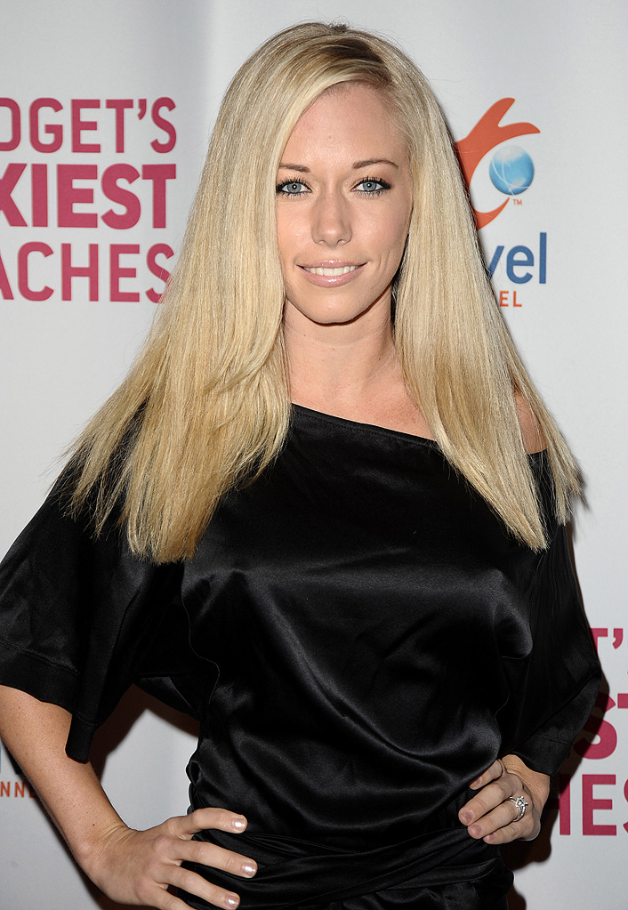 "Kendra Wilkinson attends The Travel Channel's ""Bridget's Sexiest Beaches"" launch party at The Playboy Mansion on March 10, 2009"