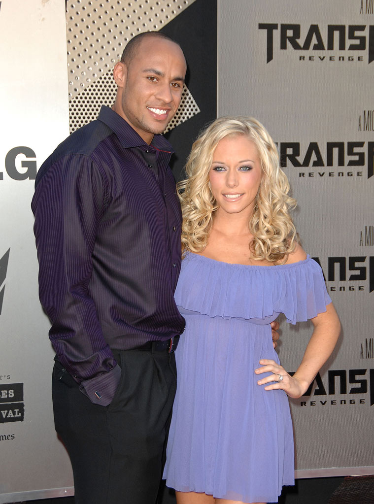 "Kendra Wilkinson and Hank Baskett arrive at the 2009 Los Angeles Film Festival's premiere of ""Transformers: Revenge of the Fallen"" at the Mann Village Theatre on June 22, 2009 in Westwood, California."