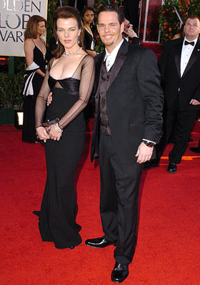 Debi Mazar and Kevin Dillon 62nd Annual Golden Globe Awards - Arrivals Beverly Hills, CA - 1/16/05