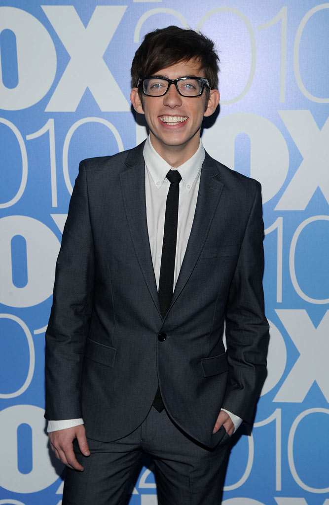 "Kevin McHale (""Glee"") attends the 2010 Fox Upfront after party at Wollman Rink, Central Park on May 17, 2010 in New York City."