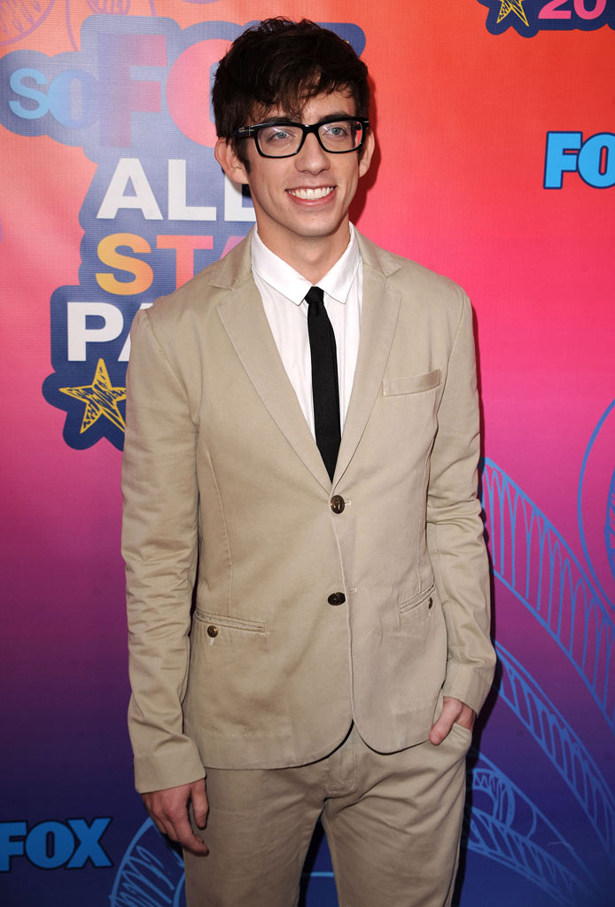 """Glee's"" Kevin McHale arrives at the Fox 2010 Summer TCA All-Star Party on August 2, 2010 in Santa Monica, California."