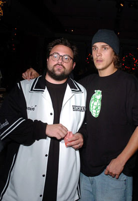 Premiere: Kevin Smith and Jason Mewes at the Hollywood premiere of Dreamworks' Surviving Christmas - 10/14/2004 Photos: Lester Cohen, WireImage.com