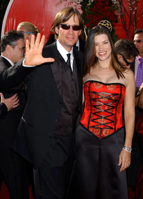 Kevin Sorbo and Sam Jenkins 56th Annual Emmy Awards - 9/19/2004