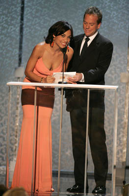 Rosario Dawson and Kiefer Sutherland Screen Actors Guild Awards - 2/5/2005