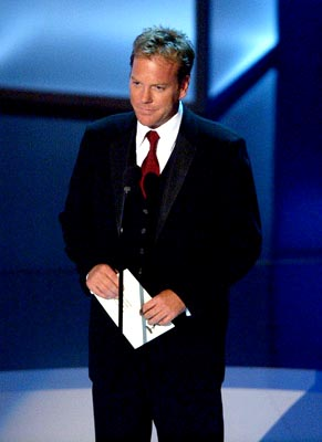 Kiefer Sutherland 55th Annual Emmy Awards - 9/21/2003