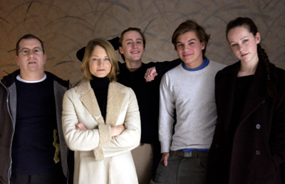 Peter Care, Jodie Foster, Kieran Culkin, Emile Hirsch and Jena Malone The Dangerous Lives of Altar Boys Sundance Film Festival 1/18/2002