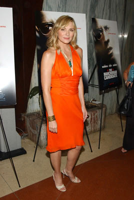 Premiere: Kim Cattrall at the New York premiere of Paramount Pictures' The Manchurian Candidate - 7/19/2004