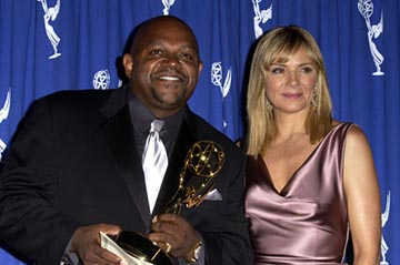 Charles S. Dutton and Kim Cattrall Emmy Creative Arts Awards - 9/13/2003
