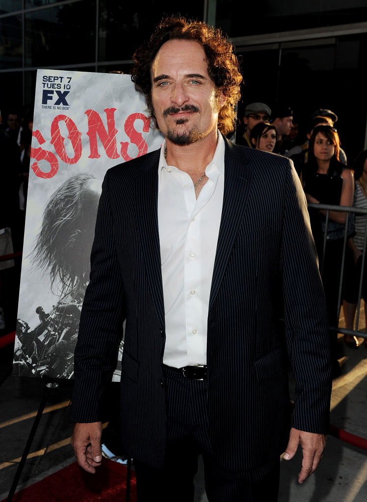 "Kim Coates attends FX's ""Sons Of Anarchy"" Season 3 premiere on August 30, 2010, in Hollywood."