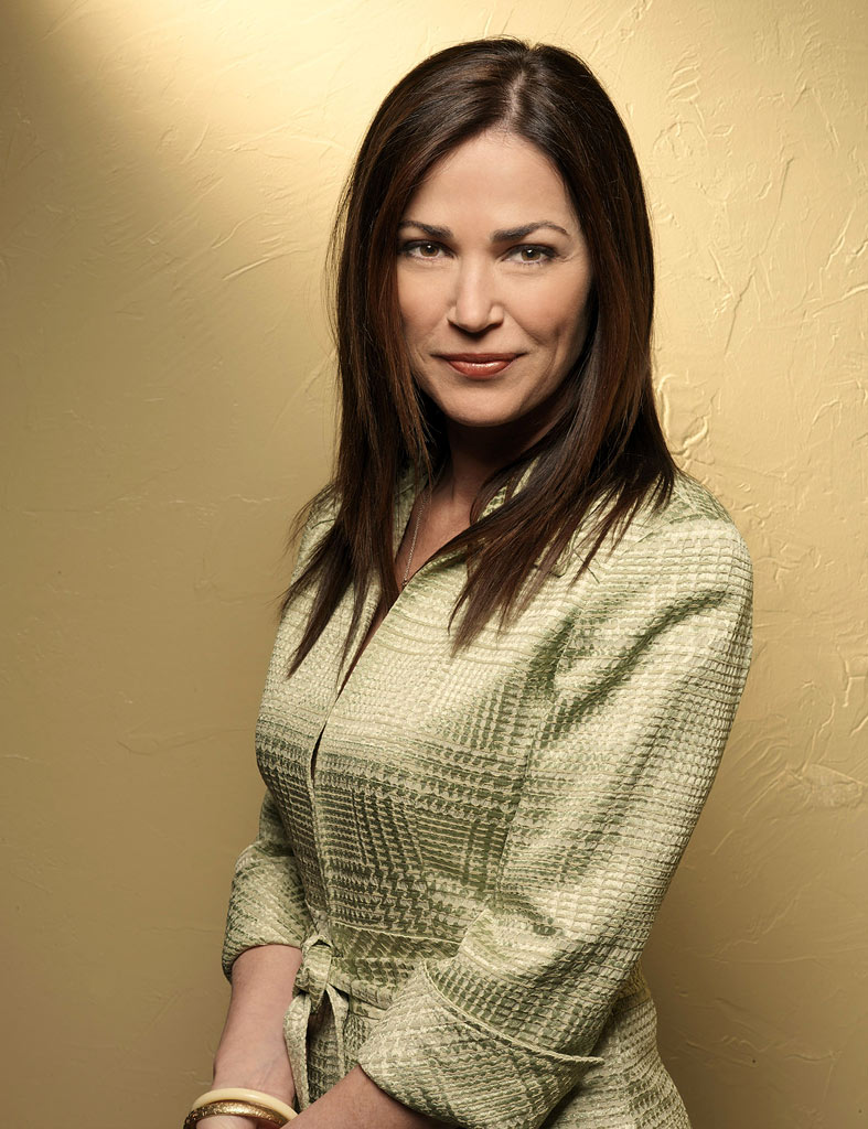 Kim Delaney stars as Claudia Joy Holden, the strong and respected wife of a Colonel in Army Wives.