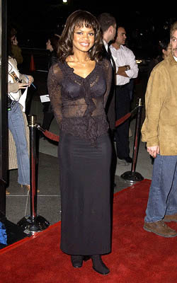 Premiere: Kimberly Elise at the LA premiere for New Line's John Q - 1/7/2002