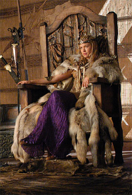 "Kristanna Loken as Brunnhild Sci-Fi's ""Dark Kingdom"""