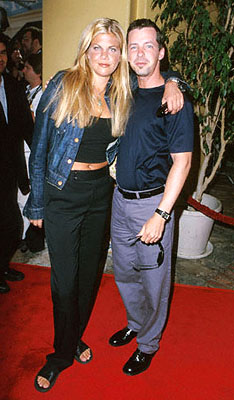 Premiere: Kristen Johnston and Sean P. Hayes at the Mann's Village Theater premiere of Warner Brothers' The Perfect Storm - 6/26/2000