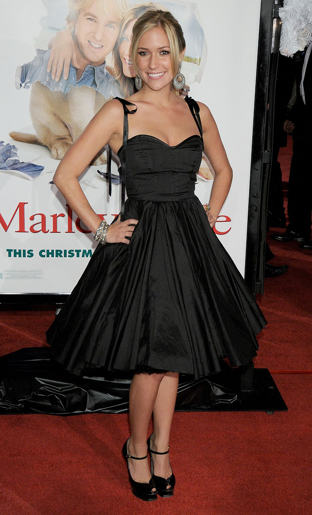 "Kristin Cavallari  arrives at the Los Angeles premiere of ""Marley & Me"" on December 11, 2008 in Los Angeles, California."