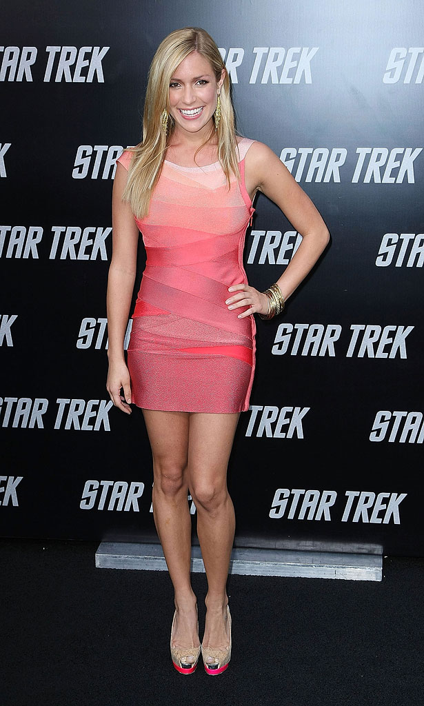 "Kristin Cavallari  arrives at the Los Angeles premiere of ""Star Trek""  at the Grauman's Chinese Theater on April 30, 2009 in Hollywood, California."