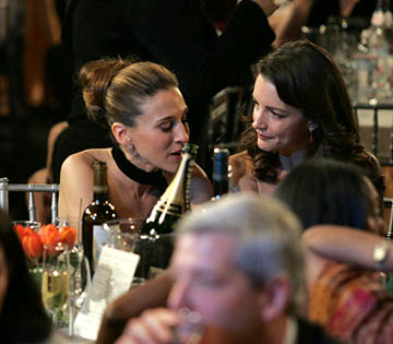 Sarah Jessica Parker and Kristin Davis Screen Actors Guild Awards - 2/5/2005
