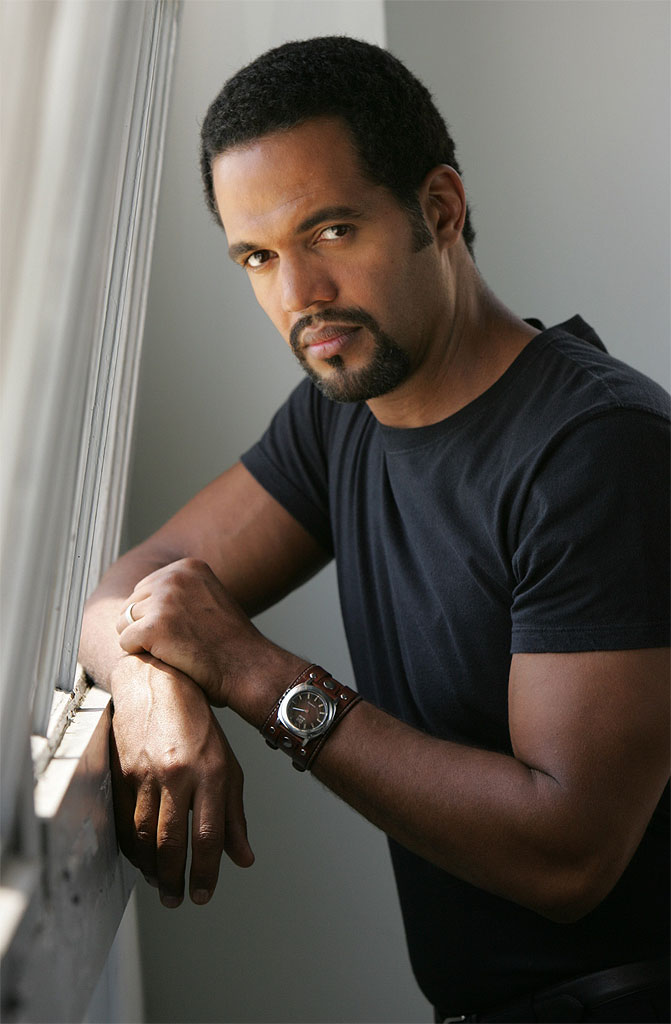 Kristoff St. John stars as Neil Winters in The Young and the Restless on CBS.