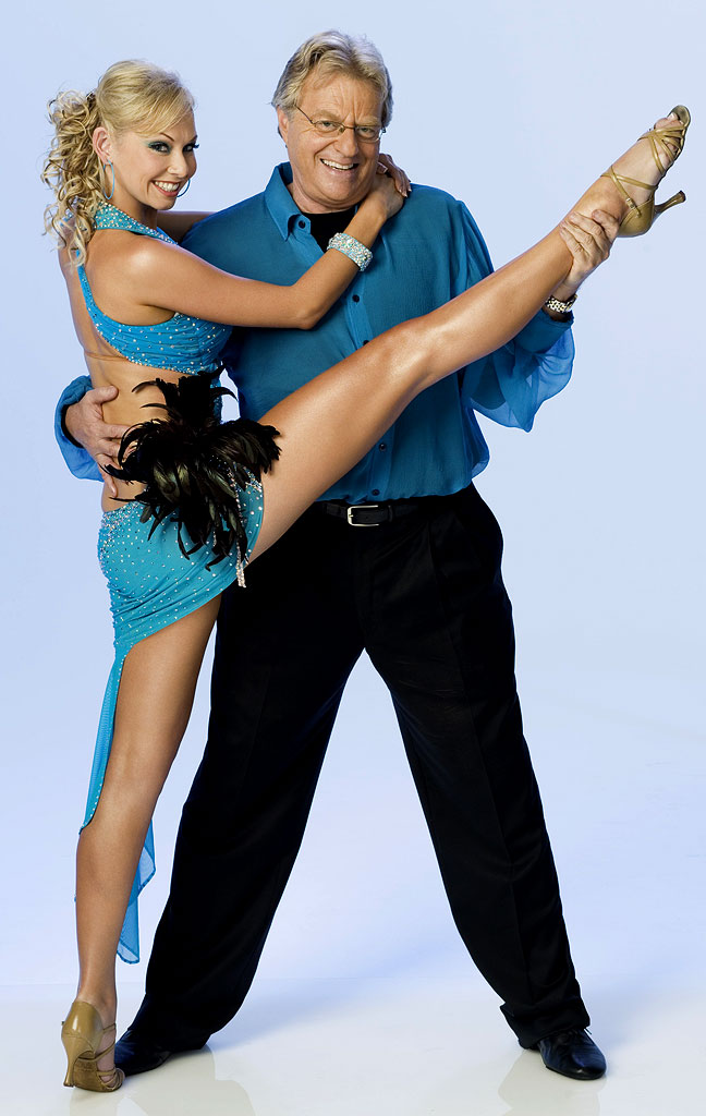 Talk show host Jerry Springer teams up with professional dancer Kym Johnson for Season 3 of Dancing with the Stars