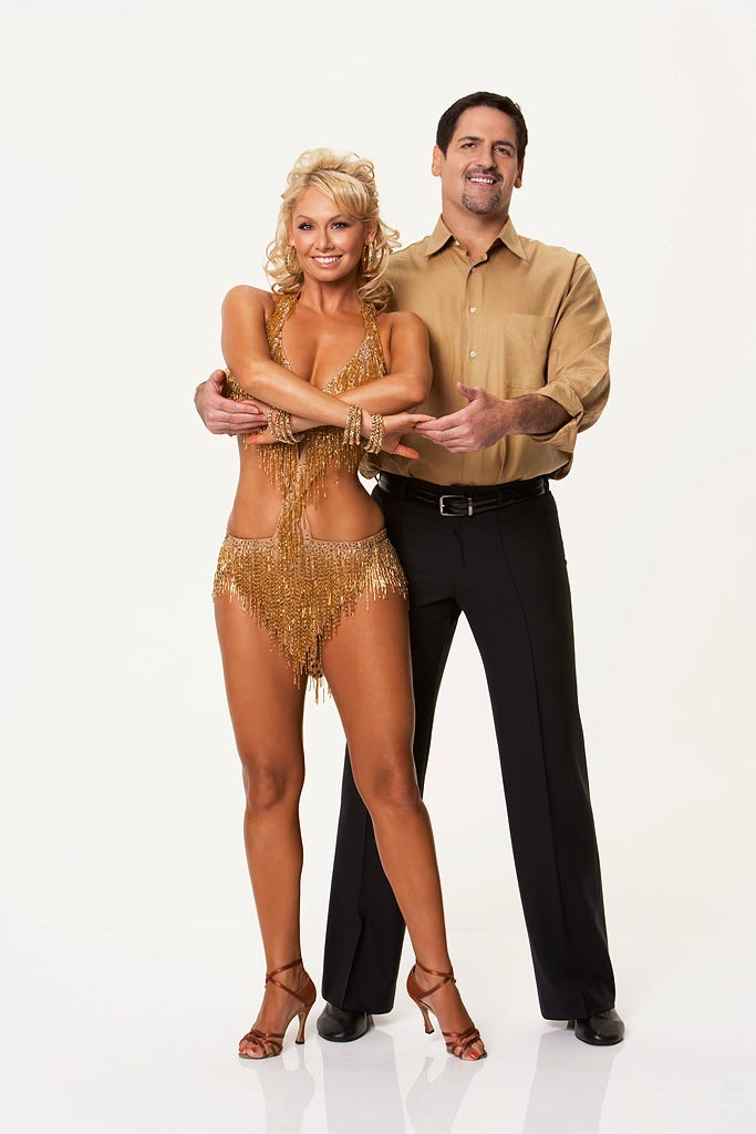 Mark Cuban, the owner of the Dallas Mavericks NBA basketball teams up with professional dancer Kym Johnson for the Season 5 of Dancing with the Stars.