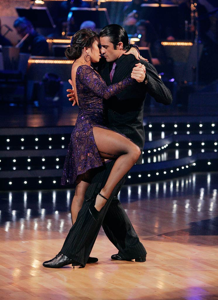 "David Alan Grier and Kym Johnson perform the Argentine Tango to ""Assassin's Tango"" by John Powell on ""Dancing with the Stars."""