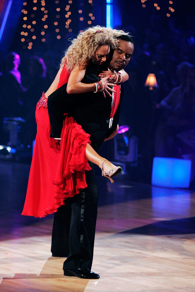 "David Alan Grier and Kym Johnson perform the Viennese Waltz to ""I Put a Spell on You"" by Nina Simone on ""Dancing with the Stars."""