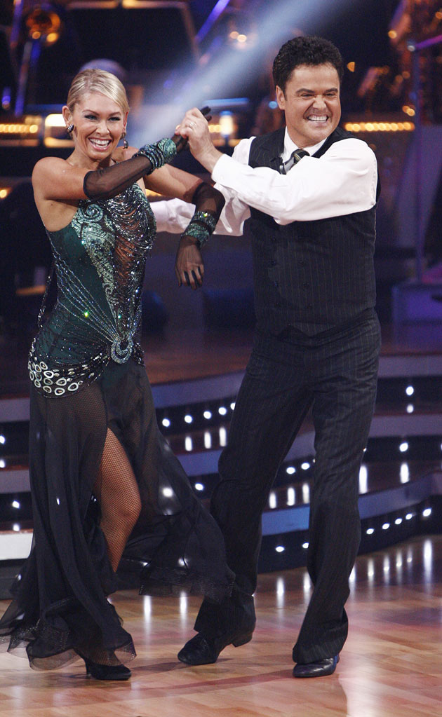 "Donny Osmond and Kym Johnson perform the Foxtrot to ""All That Jazz"" from ""Chicago"" on ""Dancing with the Stars."""