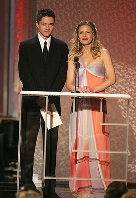 Topher Grace and Kyra Sedgwick Screen Actors Guild Awards - 2/5/2005