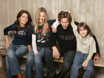 Marisa Tomei, Kyra Sedgwick, director Kevin Bacon and Dominic Scott Kay Loverboy Portraits - 1/25/2005 Sundance Film Festival