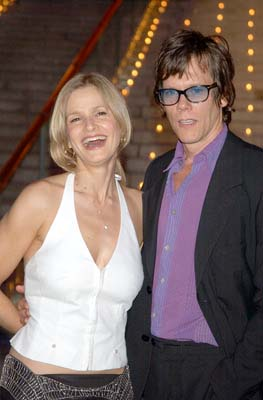Kyra Sedgwick and Kevin Bacon Tribeca Film Festival, 5/1/2003