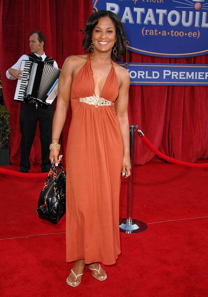 "Laila Ali at the ""Ratatouille"" Los Angeles Premiere."