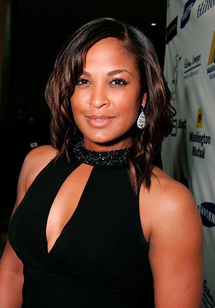 "Laila Ali  at ""Magic Evolution"" - An Evening Honoring Earvin ""Magic"" Johnson."