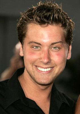 Premiere: Lance Bass at the Hollywood premiere of Dreamworks' Anchorman - 6/28/2004