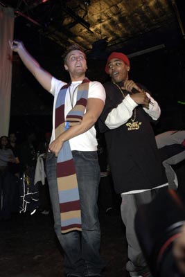 Lance Bass and Nelly Maxim Blender party - 1/15/2004 Sundance Film Festival