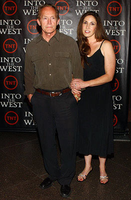 "Lance Henriksen and wife Jane Pollack ""Into the West"" Los Angeles Premiere - 6/8/2005"