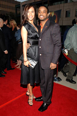 Premiere: Larenz Tate with Tomasina at the Beverly Hills premiere of Lions Gate Films' Crash - 4/26/2005