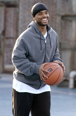 "Larenz Tate as Shooter Cooper CBS' ""Love Monkey"""