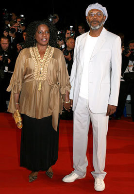 Premiere: LaTanya Richardson and Samuel L. Jackson at the 2006 Cannes Film Festival premiere of 20th Century Fox's X-Men: The Last Stand - 5/22/2006