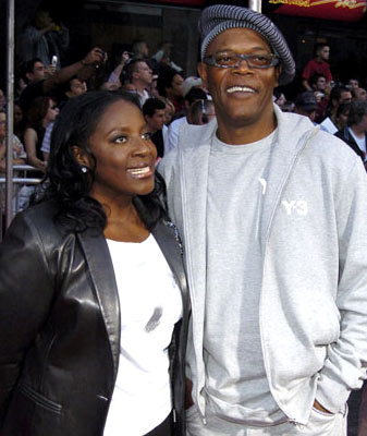 Premiere: LaTanya Richardson and Samuel L. Jackson at the Hollywood premiere of Disney and Pixar's The Incredibles - 10/24/2004