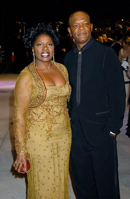LaTanya Richardson and Samuel L. Jackson 77th Annual Academy Awards - Vanity Fair Party Hollywood, CA - 2/27/05