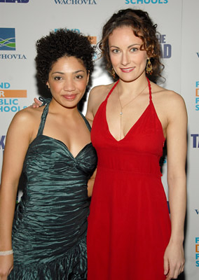 Premiere: Jasika Nicole and Laura Benanti at the NY premiere of New Line Cinema's Take the Lead - 4/4/2006 Laura Benanti