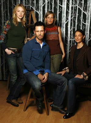 Laura Prepon, Jeffrey Donovan, director Joey Lauren Adams and Ashley Judd Come Early Morning Portraits - 1/20/2006 2006 Sundance Film Festival