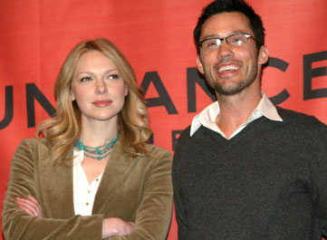 Laura Prepon and Jeffrey Donovan Come Early Morning Premiere - 1/20/2006 2006 Sundance Film Festival