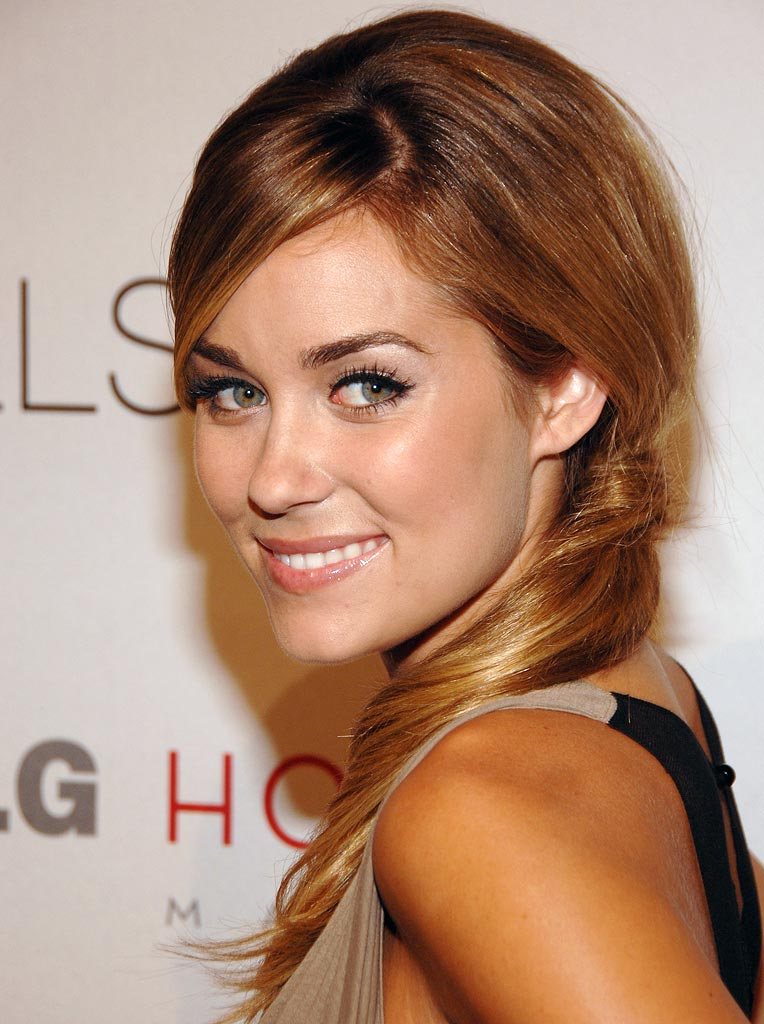 "Lauren Conrad arrives at ""The Hills"" Season 3 Premiere held at the LG House."