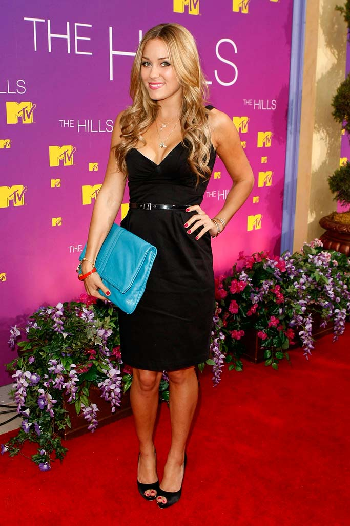 Lauren Conrad at the Live Season 3 Hills finale party.